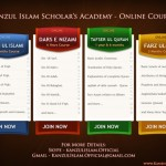 Online Islamic Courses Available !